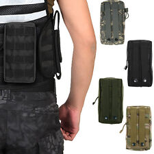 Tactical Military Nylon Sling Waist Bag Case Molle Pouch Medical First Aid Pouch