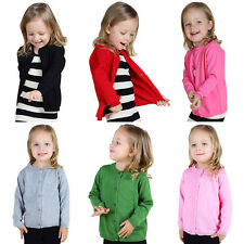 Baby Sweater Girls Clothing Kids Coat Spring Autumn Outwear Long Sleeve Cardigan