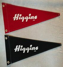 Higgins Pennant Flag Wooden Boat Vintage Style Nautical Collectable Reproduction