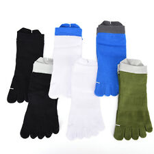 Casual Mens Trendy pure cotton Five Fingers toe sports bamboo fibre Socks CX