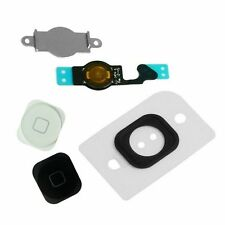 Home Menu Button Key Cap Flex Cable Bracket Holder Spacer Set For iPhone 5 5G