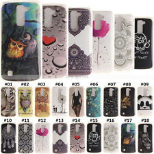 Silicone Gel Slim Skin Soft Fashion Rubber TPU Back Case Cover For LG smartphone