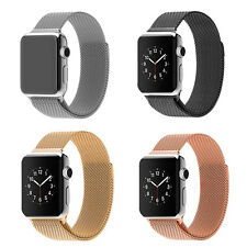 Milanese Magnetic Loop Stainless Steel Strap Watch Bands For Apple Watch 42MM UK
