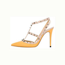 Fashion Women's High Heels Pointed Toe Ankle T-Strap Sandals Party Pumps Shoes