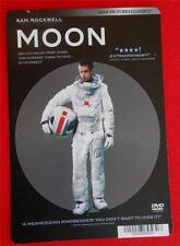 MOON ~ Sam Rockwell ~ DVD Movie Backer Mini Poster Card ~ NOT a DVD