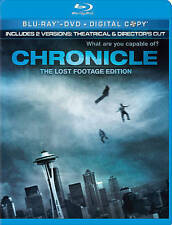 Chronicle (Blu-ray/DVD, 2012, 2-Disc Set, The Lost Footage Edition no digita