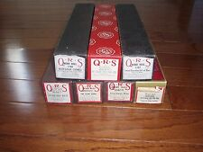 7 Vintage QRS Player Piano Music Rolls