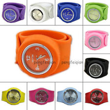 Silicone Wristwatch Slap Strong Watch Sports Bracelet Top Trendy All Size Adult