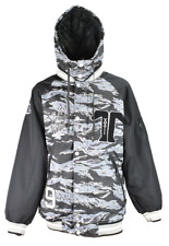 NWT Technine VARSITY Snowboard Jacket SNOW CAMO/BLACK/WHITE SMALL-2XLARGE DS16