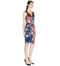 BNWT CUE Satin Floral Dress Sz 6  RRP$179