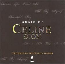 The Quality Singers - Music of Celine Dion (New CD)