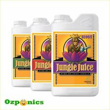 HYDROPONICS ADVANCED NUTRIENTS JUNGLE JUICE 3 PART BLOOM MICRO GROW