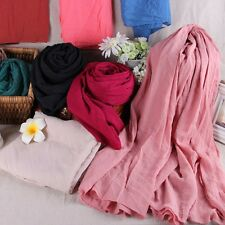 Hotsale Ramie Cotton Scarf Female Summer Autumn All-match Girl Scarf Long Scarf