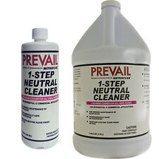 Prevail 1-Step Neutral Cleaner Concentrates - Quart or Gallon - Floor Cleaner