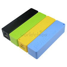 Blue/Green/Yellow USB Power Bank Charger Pack Box Battery Case For 1 x18650 DIY