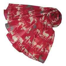 Two Tone Deer, Stag  Reindeer Print  Scarf Wrap Shawl  Gorgeous colours