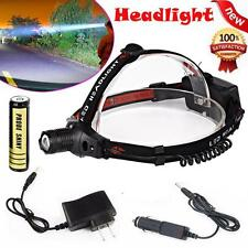 ZOOMABLE 3000LM CREE XM-L Q5 LED 18650 Headlamp Head Light Lamp Torch Flashlight