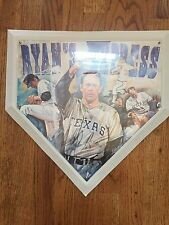Nolan Ryan Signed Sportacular Home Plate Limited Ed Rangers Astros Mets MLB