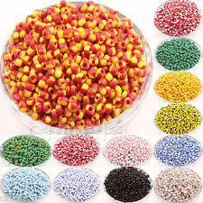 100Pcs Multicolor Round Czech Glass Spacer Loose Beads Jewelry Findings DIY New