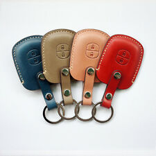 Dextannery 1341 Handmade Leather Smart Key Car Case for TOYOTA Prius