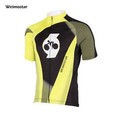 WEIMOSTAR Cycling Team  Mens Jersey Shirt Top Short Sleeve Bicycle Wear Clothing