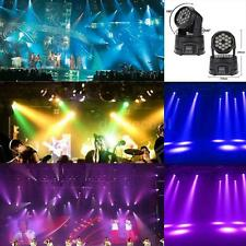 50W 18LED 13/8CH DMX512 RGB Head Moving Lamp Wash Effect Stage Light Party G1O1