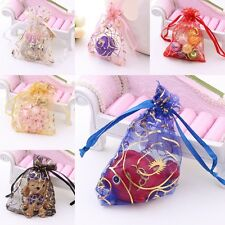 100pcs Organza Jewelry Kids Candy Bags Wedding Party Gift Bags Pouch Wholesale