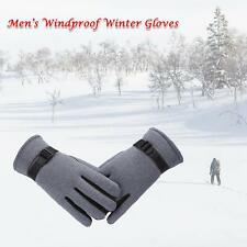 Windproof Winter Thickening Bike Bicycle Motorcycle Sports Thick Gloves Hot Z9U4
