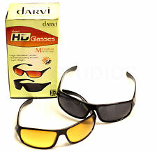 Night Driving Anti Glare Vision HD Glasses Prevention Driver Sun Glasses 2/Pack