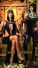 Ladies Ancient Egyptian Queen Cleopatra Costumes & Egyptian Cat Couples Costumes