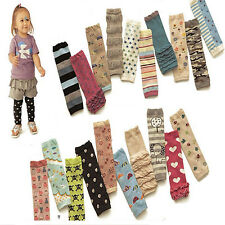 Adorable Baby Toddler Kid Child Star Stripe Hearts Socks Tights Arm Leg Warmers