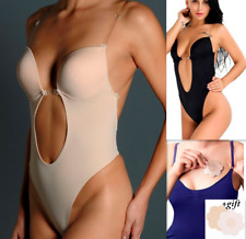 Backless Full Body Shaper Thong Convertible Seamless Low Back invisible shaper