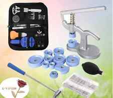 Watch Repair Tool Kit Opener Link Remover Spring Bar Free Hammer+ Case LOT NEW V