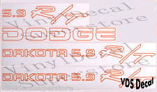 Dodge Dakota 5.9 R/T Outline decal *KIT*