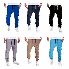 Men Jogging Sports Training Sweat Pants Tracksuit Bottoms Jogger Casual Trousers