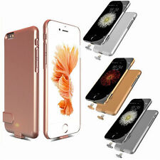 Power Bank Backup Charger Battery Case Ultra Thin Cover For iPhone 7 6S Plus AT