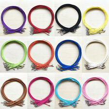 5/10Pcs Suede Leather String Cord Jewelry Making Necklace 47cm DIY Multi Color