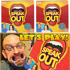 SPEAK OUT Board Game SPEAKOUT Challenge Game Mouthguard Party Family Xmas Gifts