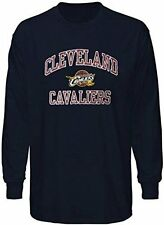 Cleveland Cavaliers NBA Majestic Mens Long Sleeve Heart & Soul Shirt Size 6XL