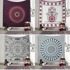 Indian Mandala Tapestry Hippie Wall Hanging Queen Size Bedspread Bedding Throw