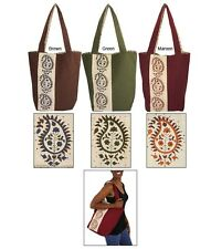Beautifully Crafted Paisley Tote Bag - Shoulder Bag - Fairly Traded from India