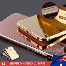 Mirror Aluminum Metal Ultra-thin Case Cover for Apple iPhone 7 6 6s Plus 5 SE
