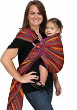 NEW Maya Wrap Ring Sling - Bright Stripes - Medium - Free Shipping