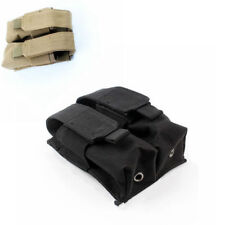 Molle Tactical Double Magazine Pouch Pistol Cartridge Clip Pouch for USUG 30 RD