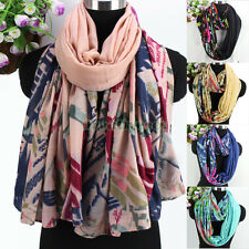 Lady Fashion Twill Abstract graphics Print Long Scarf/Infinity Loop Cowl Scarf