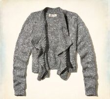 NEW Hollister By Abercrombie Womens Avalon Place Moto Sweater Jacket NWT