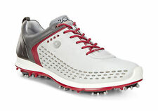 ECCO 2017 Mens Biom G2 Hybrid Concrete Brick Waterproof Leather Golf Shoes