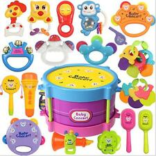 New 25pcs Kids Toys Roll Drum Musical Instruments Band Kit Children Toy Set