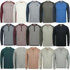 Mens Soft Jersey Long Sleeve T-shirts by Tokyo Laundry, Dissident & Brave Soul