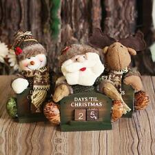 Christmas Snowman Santa Reindeer Time Counting Festival Gifts Home Decor New
